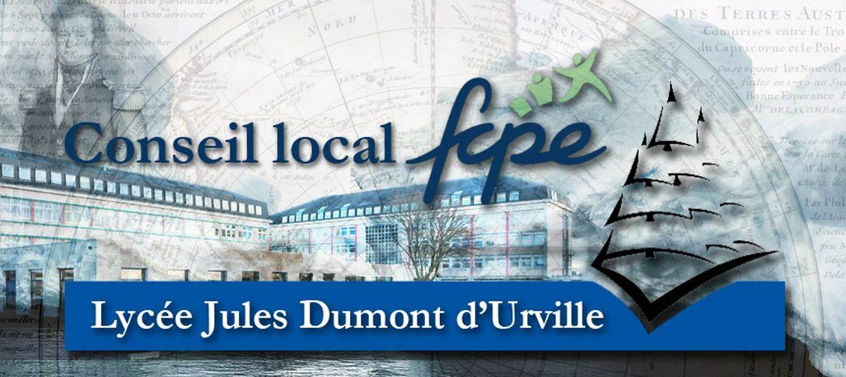 Groupe FCPE du Lycée Dumont d'Urville – Caen
